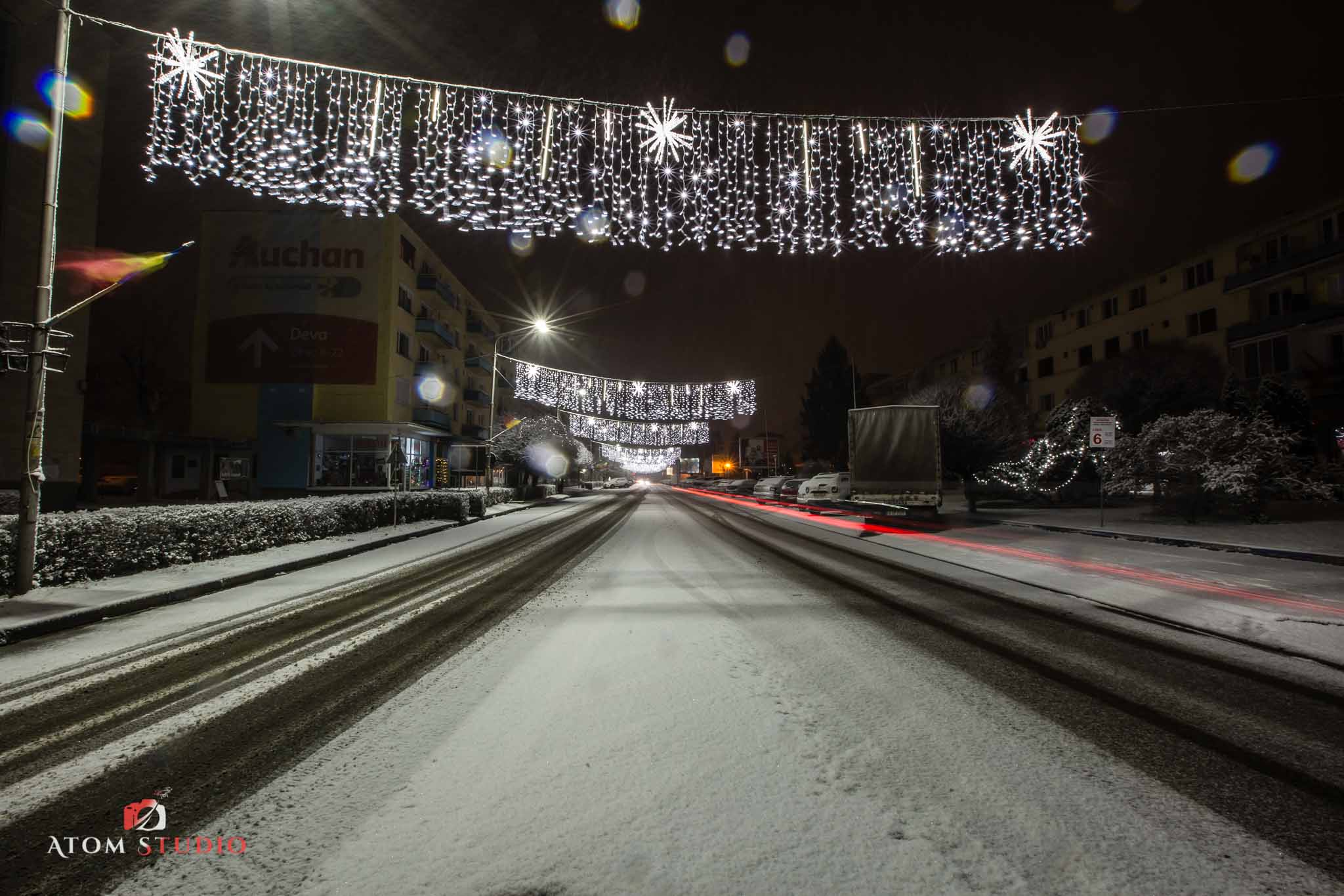 Fotografii Deva iarna decembrie 2018-1