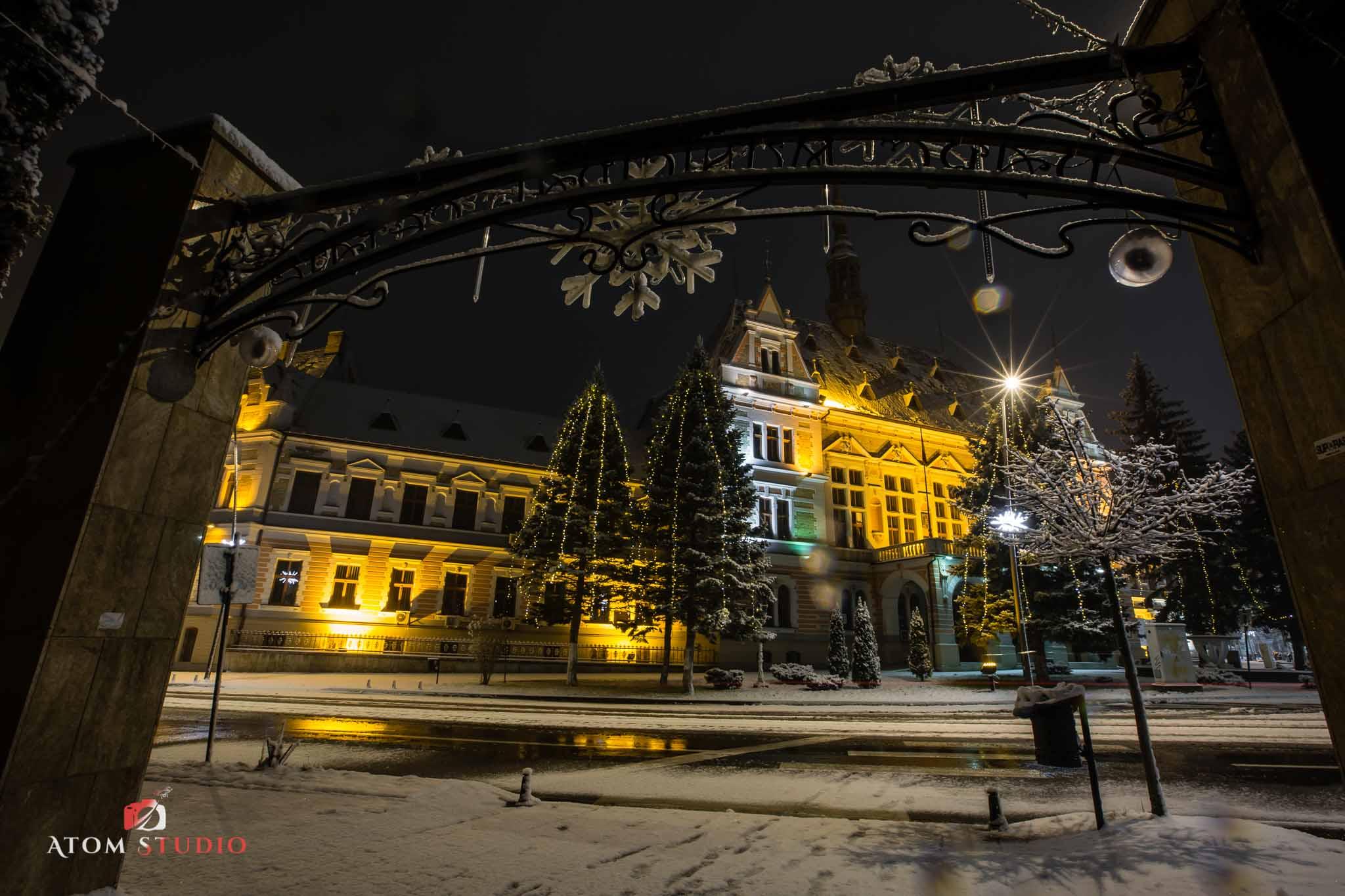 Fotografii Deva iarna decembrie 2018-10