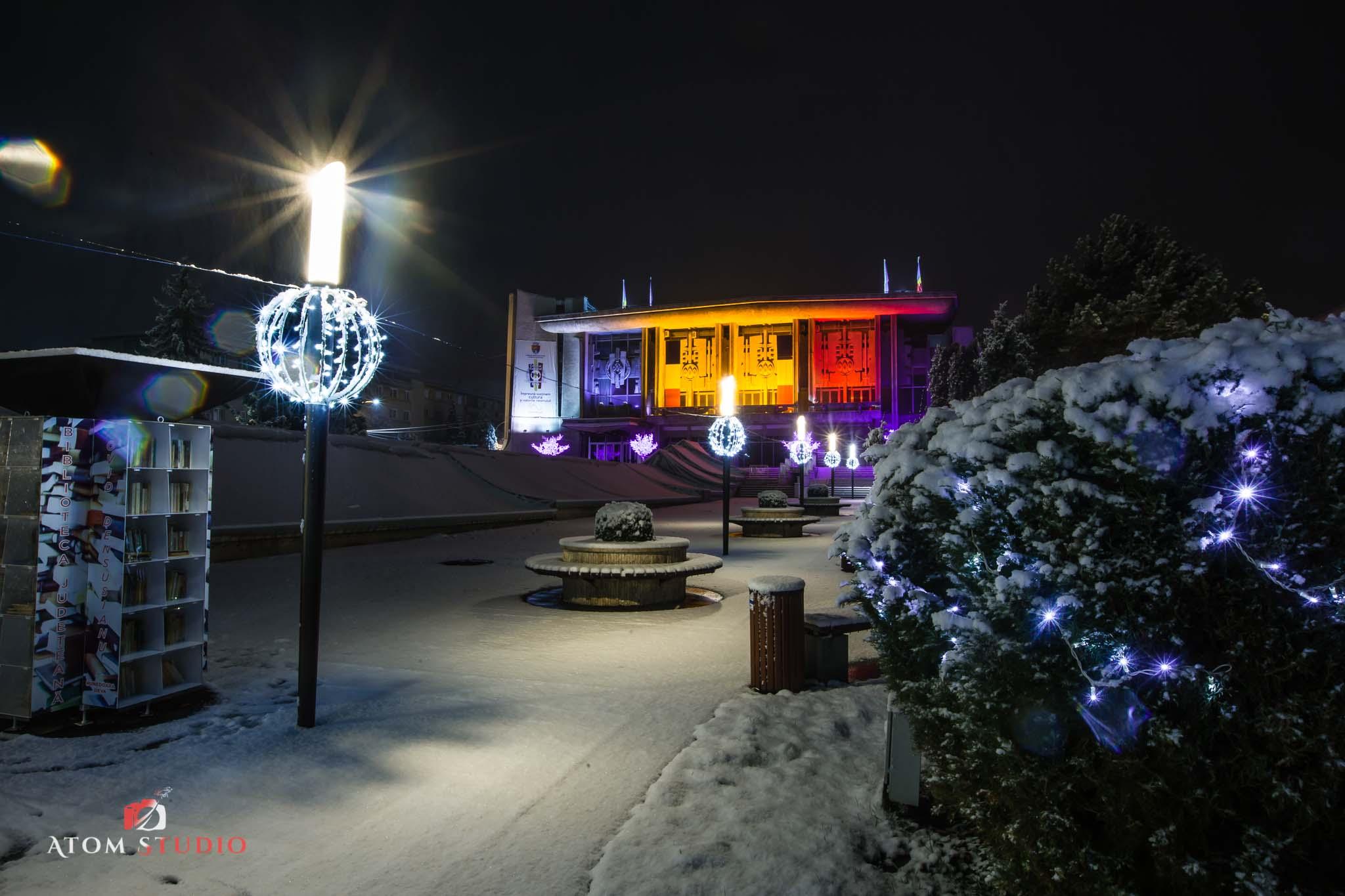 Fotografii Deva iarna decembrie 2018-11