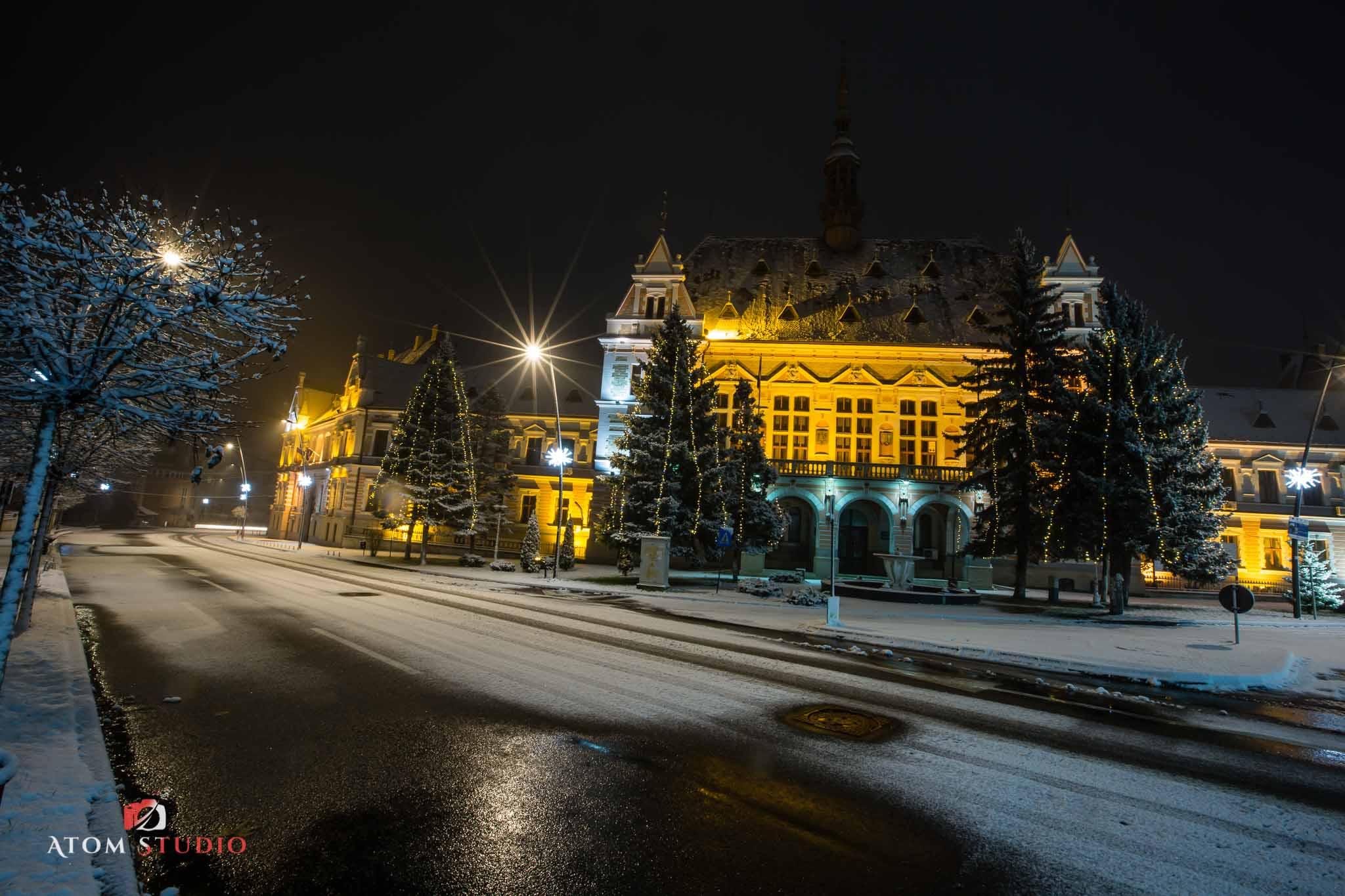 Fotografii Deva iarna decembrie 2018-6